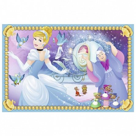 Puzzle Ravensburger - Printesele Disney, 6 piese