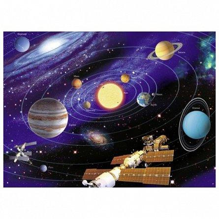 Puzzle Ravensburger - Sistemul solar, 200 piese