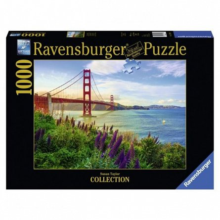 Puzzle Ravensburger - Pod golden gate, 1000 piese
