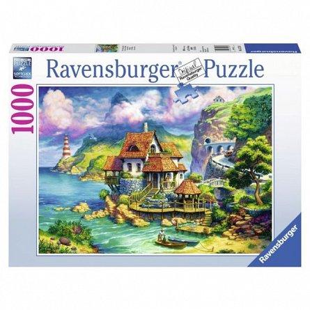 Puzzle Ravensburger - Casa lui Cliff, 1000 piese