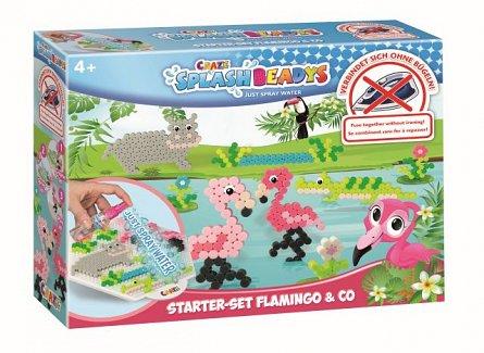 Craze Splash Beadys,creatie margele,set,Flamingo