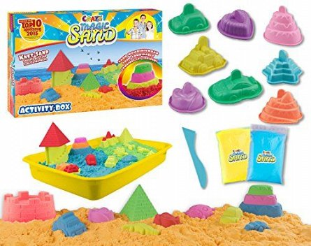 Craze Magic Sand,nisip kinetic,set activitati