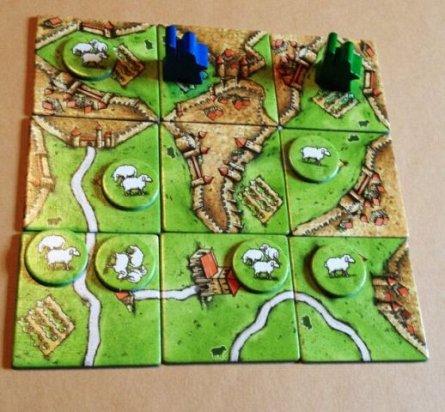 Joc Carcassonne,extensia9,Dealuri si oi