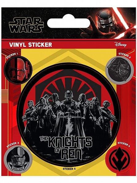 Set abtibilduri Star Wars: Rise Of Skywalker (The Knights)