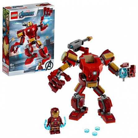 LEGO Super Heroes,Robot Iron Man