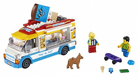 LEGO City,Furgoneta cu inghetata
