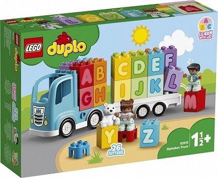 LEGO DUPLO,Primul meu camion cu litere