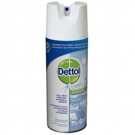 Spray dezinfectant suprafete Crisp Linen Dettol, 400 ml