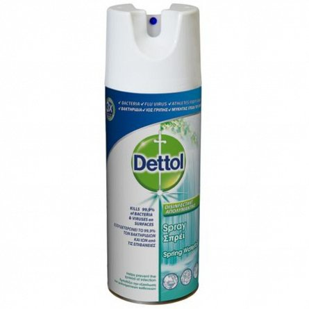 Spray dezinfectant suprafete Spring Waterfall Dettol, 400 ml