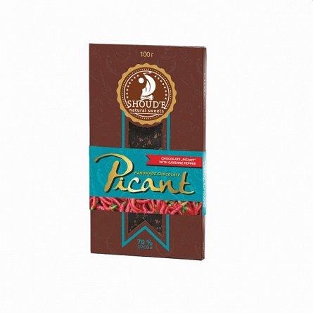 Picant,Ciocolata cu piper rosu,100g