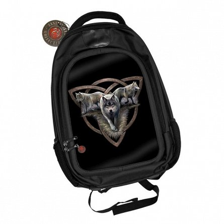 Rucsac World of 3D,Anne Stokes,Wolf Trio