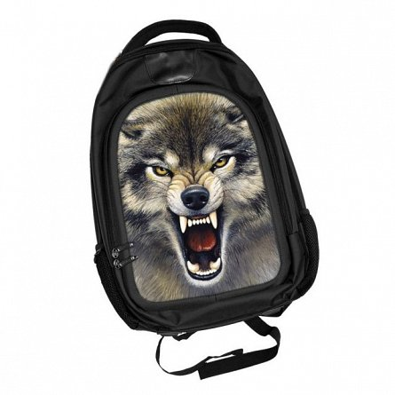 Rucsac World of 3D,Wolf