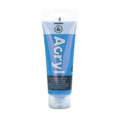 Tub culori acrilice,Primo,75ml,albastru marin