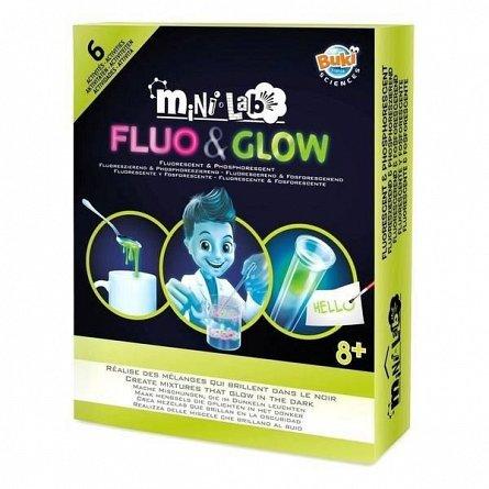 Mini Laborator de Fluo & Glow,Buki,+8Y
