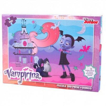 Puzzle Vampirina,cu bonus,100pcs
