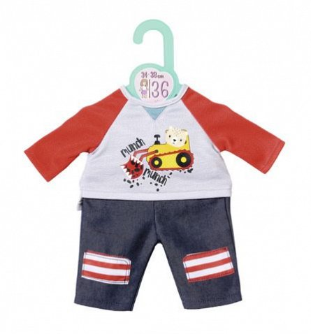 Accesorii Zapf Dolly Moda - Set bluza si pantaloni, 36cm