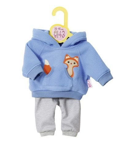Accesorii Zapf Dolly Moda - Set bluza albastra si pantaloni