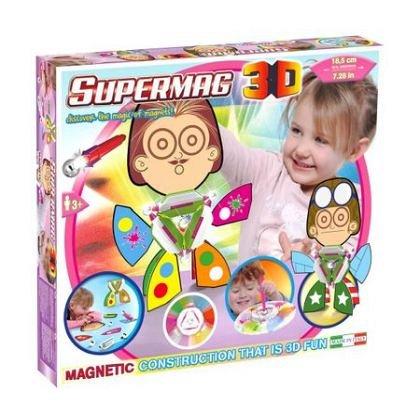 Supermag,3D-Set constructie,magnetic,triunghi