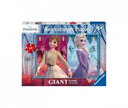 Puzzle Frozen II Elsa&Anna,60pcs