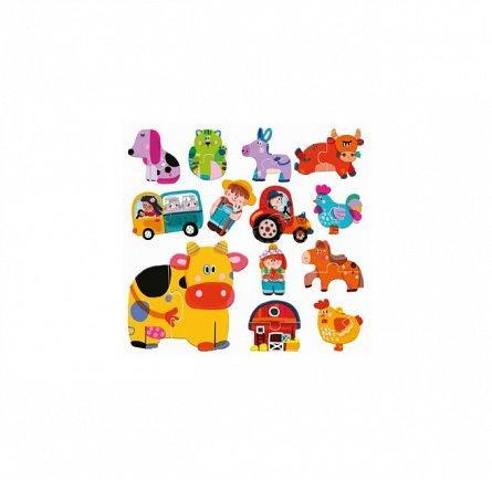 Puzzle Headu - Puzzle tactil ferma