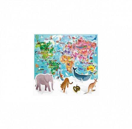 Puzzle Headu - Puzzle Turul lumii