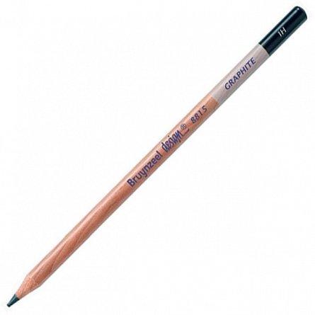 Creion grafit,1H,fara radiera,Bruynzeel Design