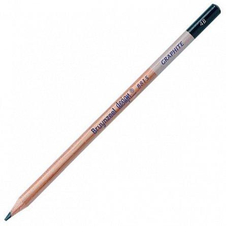 Creion grafit,4B,fara radiera,Bruynzeel Design