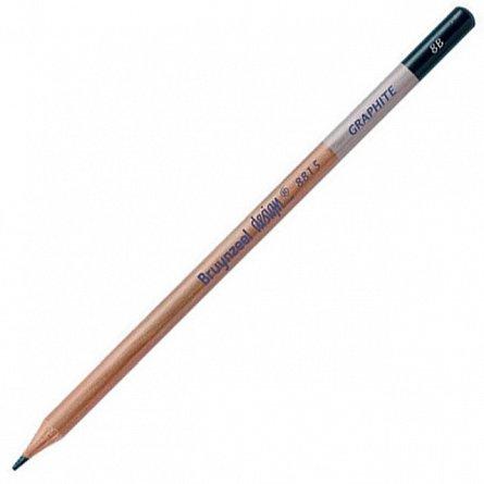 Creion grafit,8B,fara radiera,Bruynzeel Design