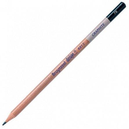 Creion grafit,7B,fara radiera,Bruynzeel Design
