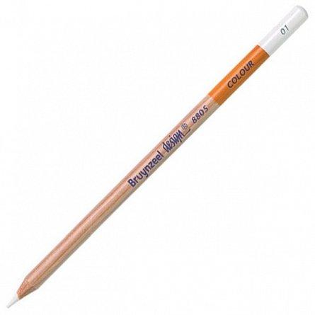 Creion colorat,Bruynzeel Design,white