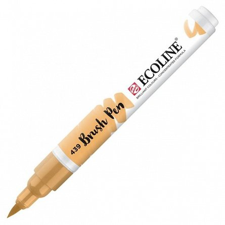 Marker varf pensula,Ecoline,sepia light