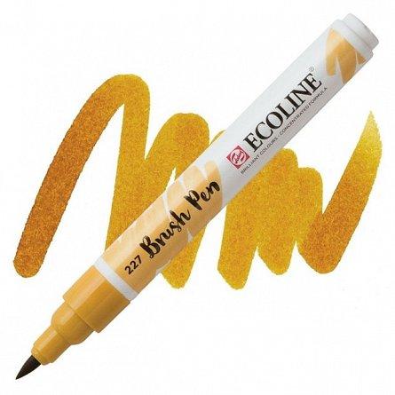 Marker varf pensula,Ecoline,yellow ochre