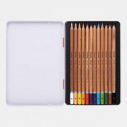 Creioane colorate,Bruynzeel,Expression,12buc/cut.metal