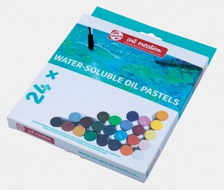 Pastel gras,Art Creation,Water-Soluble Oil Pastel,24buc/set