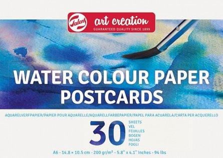 Bloc desen Art Creation Watercolor paper, A6, 30 file, hartie de 200 g