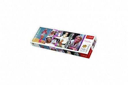 Puzzle Marilyn Monroe,colaj,panorama,500pcs,Trefl