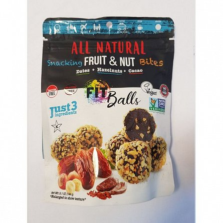 Mix curmale,alune de padure si cacao,All Natural,144g