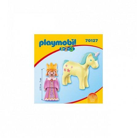 Playmobil-1.2.3 Printesa cu unicorn