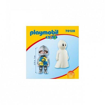 Playmobil-1.2.3 Cavaler cu fantoma
