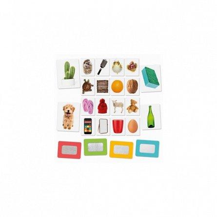 Joc educativ Headu - Montessori, Carti tactile