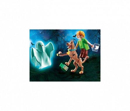 Playmobil-Scooby-Doo,Scooby&Shaggy Cu Fantoma