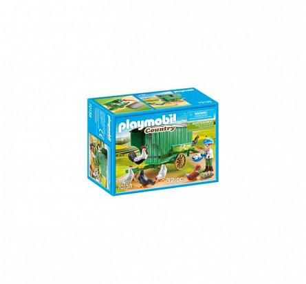 Playmobil-Cotet cu gaini