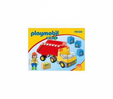 Playmobil-1.2.3.Basculanta rosie