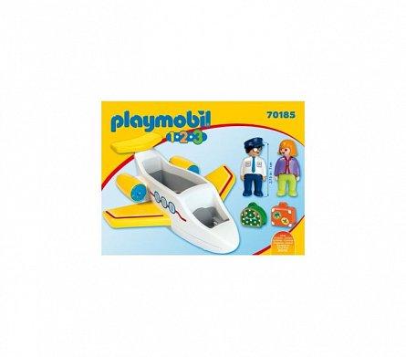 Playmobil-1.2.3 Avion cu pasager