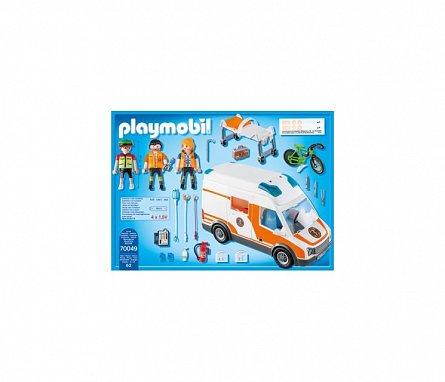 Playmobil-Ambulanta cu lumini intermitente