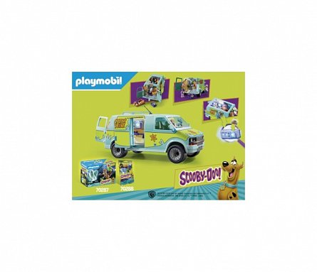 Playmobil-Scooby-Doo,Masina misterelor