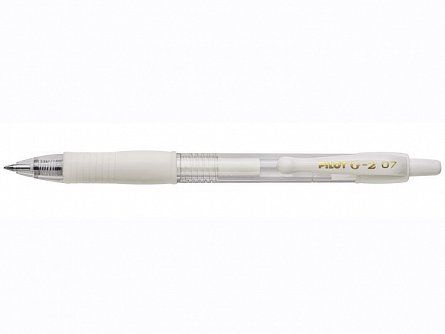 Roller Pilot,G2,0.7mm,alb pastel