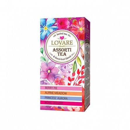 Ceai floral, 24 pliculete asortate