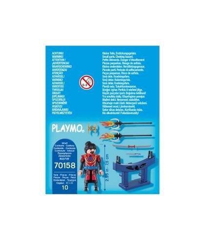 Playmobil-Figurina razboinic cu arme,4ani+