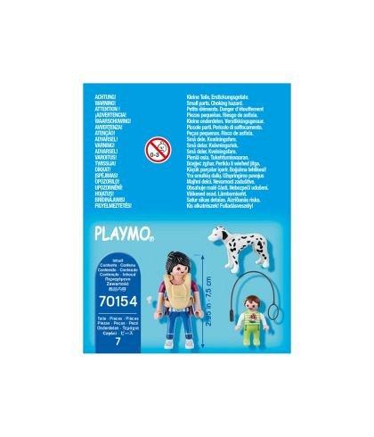 Playmobil-Figurina mama cu bebelus si caine,4ani+